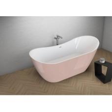 Акрилова ванна ABI рожева, 180 x 80 см Polimat
