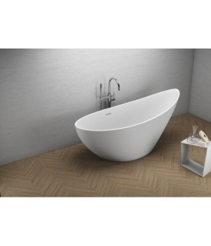 Акрилова ванна ZOE біла, 180 x 80 см Polimat