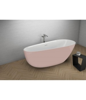 Акрилова ванна SHILA рожева, 170 x 85 см Polimat