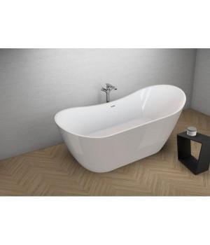 Акрилова ванна ABI сіра, 180 x 80 см Polimat