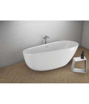 Акрилова ванна SHILA біла, 170 x 85 см Polimat