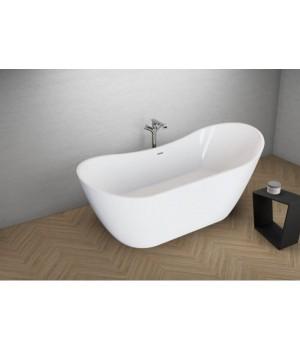 Акрилова ванна ABI біла, 180 x 80 см Polimat