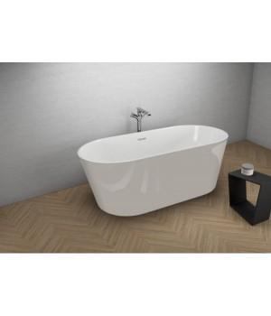Акрилова ванна UZO сіра, 160 x 80 см Polimat