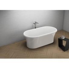 Акрилова ванна AMONA NEW сіра, 150 x 75 см Polimat