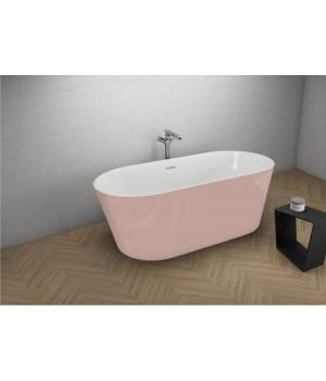 Акрилова ванна UZO рожева, 160 x 80 см Polimat