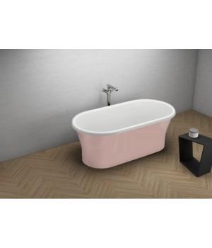 Акрилова ванна AMONA NEW рожева, 150 x 75 см Polimat