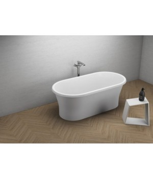 Акрилова ванна AMONA NEW біла, 150 x 75 см Polimat