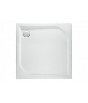 Душовий піддон ARES білий, 100 x 100 см Polimat
