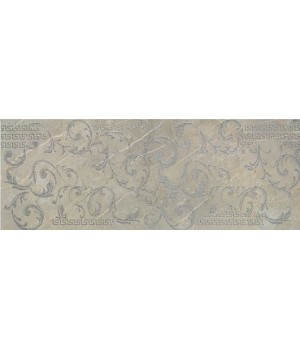 Плитка Porcelanite Dos 1320 Gris Decor Roma 48 x 128