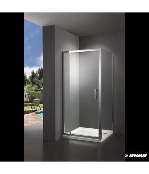 Душевая кабина PRIMERA Frame SHRC56106 100х100 см, стекло прозрачное