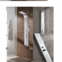 Сантехника Primera 4850019 INTERA Душевая панель - шлифованный никель (1уп)