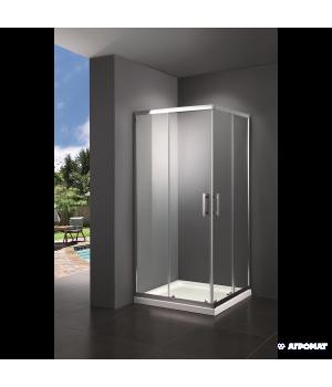 Душевая кабина PRIMERA Frame SHRG53906 90х90 см, стекло серое