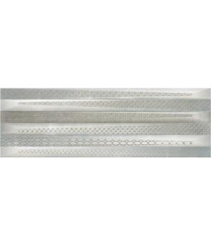 Kерамическая плитка Rocersa Metalart DEC-2 GREY 600×200×8