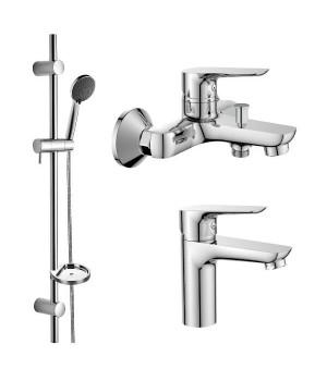 Акционный набор смесителей для ванны Imprese kit20080