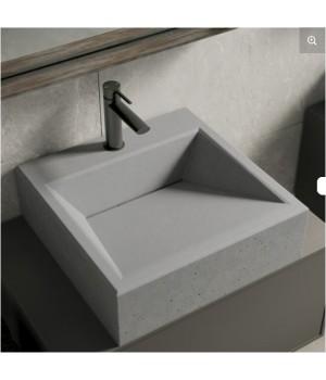 Накладна раковина з бетону Square