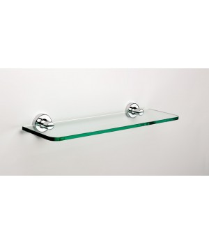 Полка для ванной стеклянная 50 см Tecnoproject 116843 Sonia хром