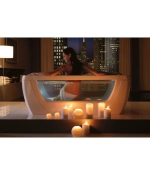Акриловая прямоугольная ванна с каркасом Treesse Vision 180