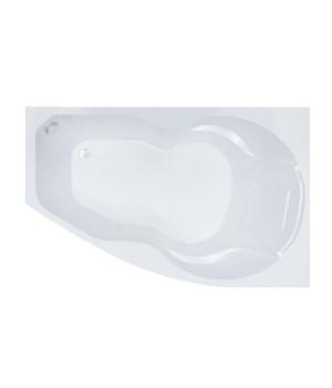 Акриловая ванна Бриз (левая) Triton ассиметричная