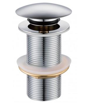 Донный клапан click-clack для мойки Volle 90-00-043 хромированный