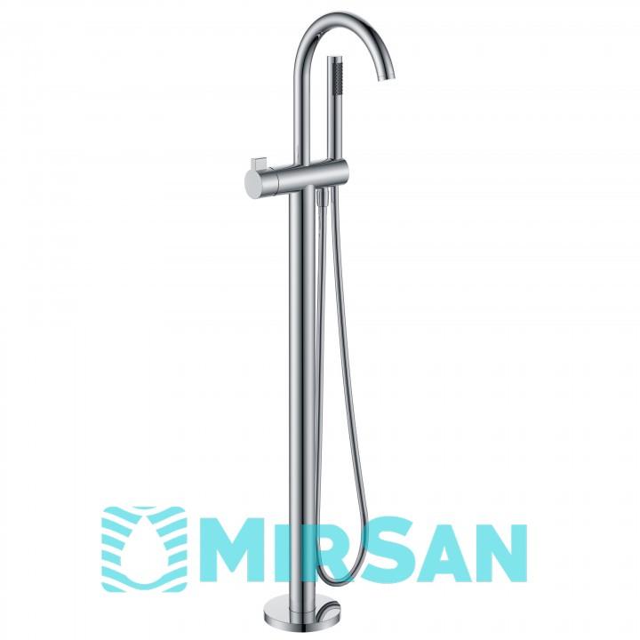 Смеситель для ванны напольный, отдельностоящий Volle 12-33-100