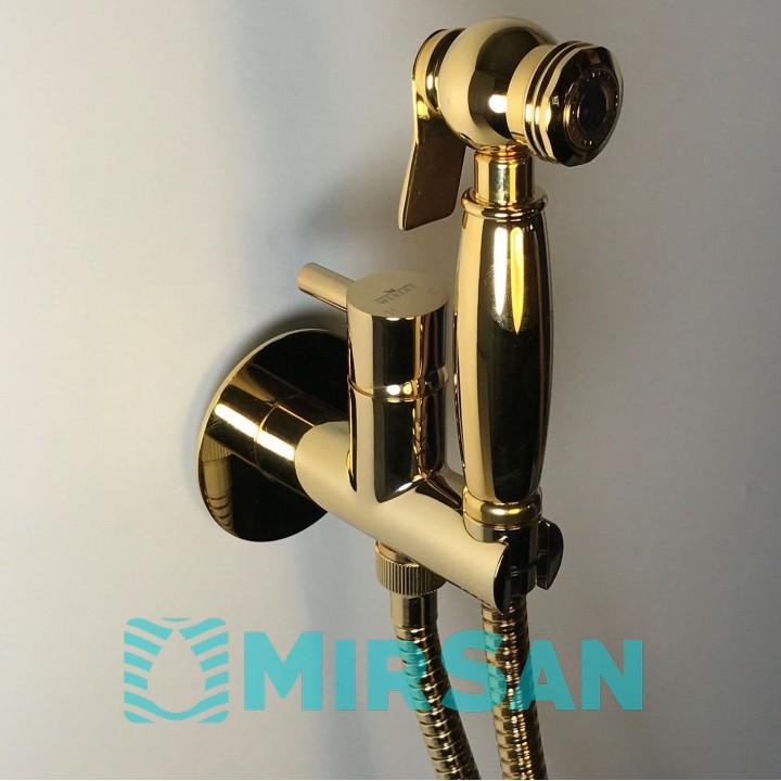 Комплект гигиенического душа Webert Antic золото EL870303.010