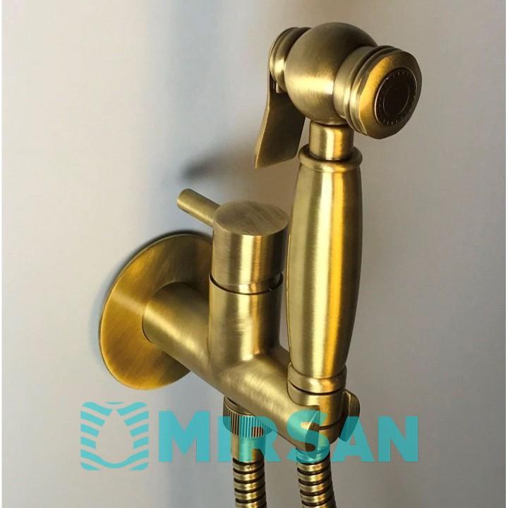 Комплект гигиенического душа Webert Antic бронза EL870303.065