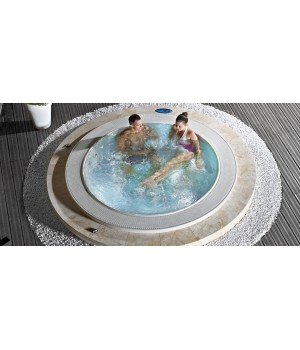 Гидромассажный СПА-бассейн Wellis CityLine ACAPULCO DEEP-IN